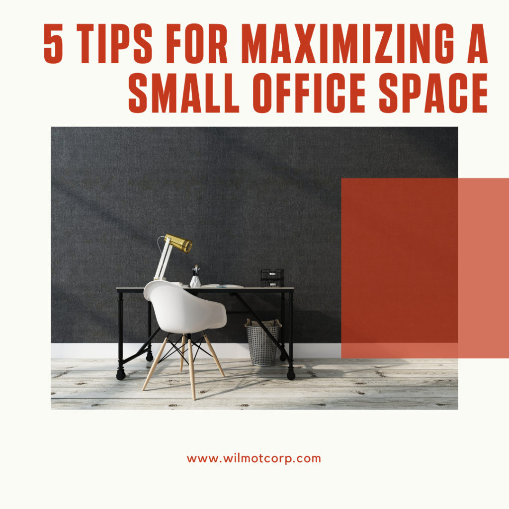 5 tips for maximizing small office space