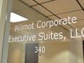 Door Signage Wilmot Corporate Executive Suites
